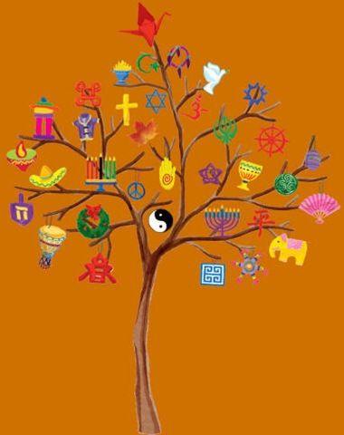 world peace tree