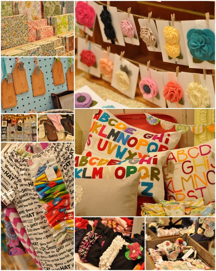 Allora Handmade booth ideas--> great tips and beautiful product & displays on here.