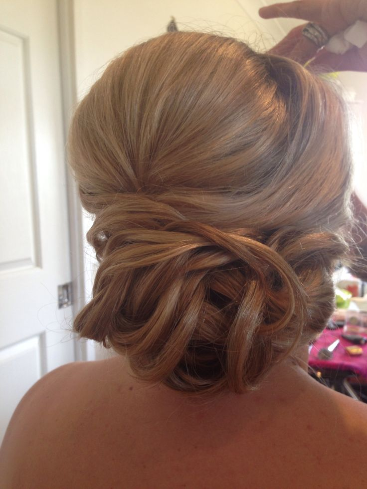 Bridesmaid hair by Kylie from Cosmic Cuts,Georgetown.