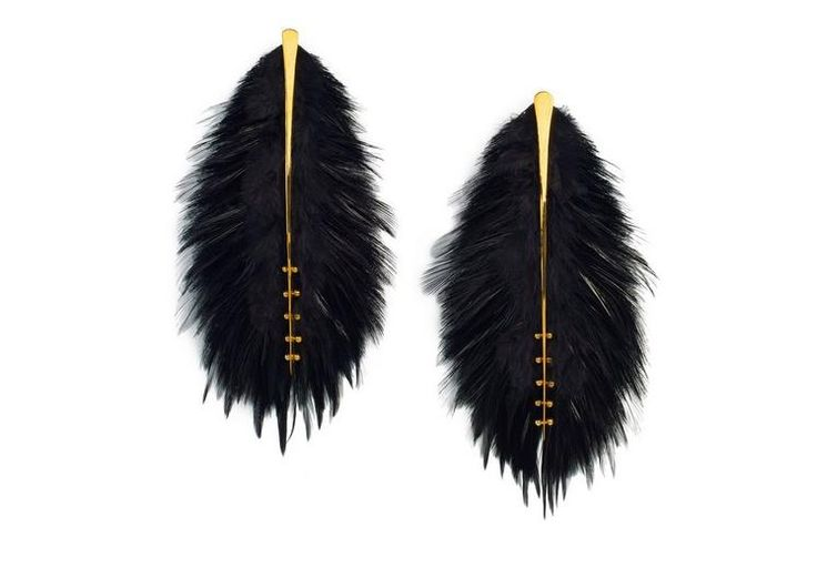 FEATHER SPINE EARRINGS
