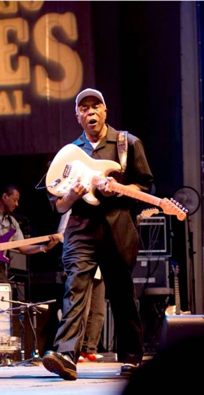 Buddy Guy Performs In Chicago