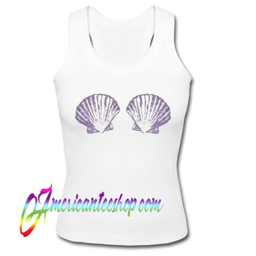 Sea Shell Boobs Tank Top