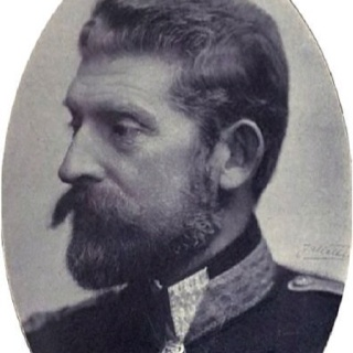My great-grandfather, King Ferdinand of Romania who was married to Queen Marie of Romania (my great-grandmother), the grand-daughter of Queen Victoria