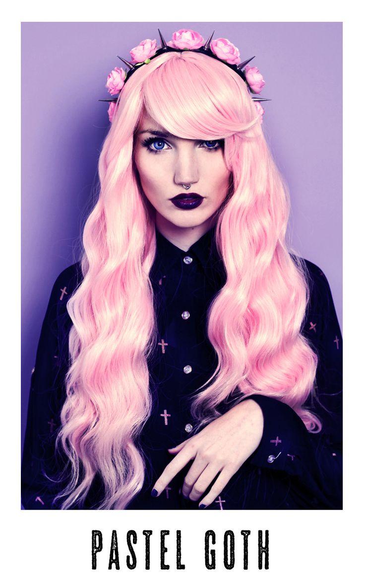 114 best pastel goth fashion images on pinterest pastel