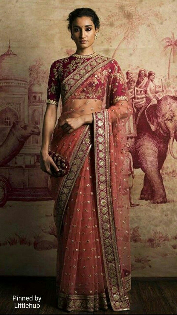 Sabyasachi~❤。An Exquisite Clothing World || sabyasachi saree