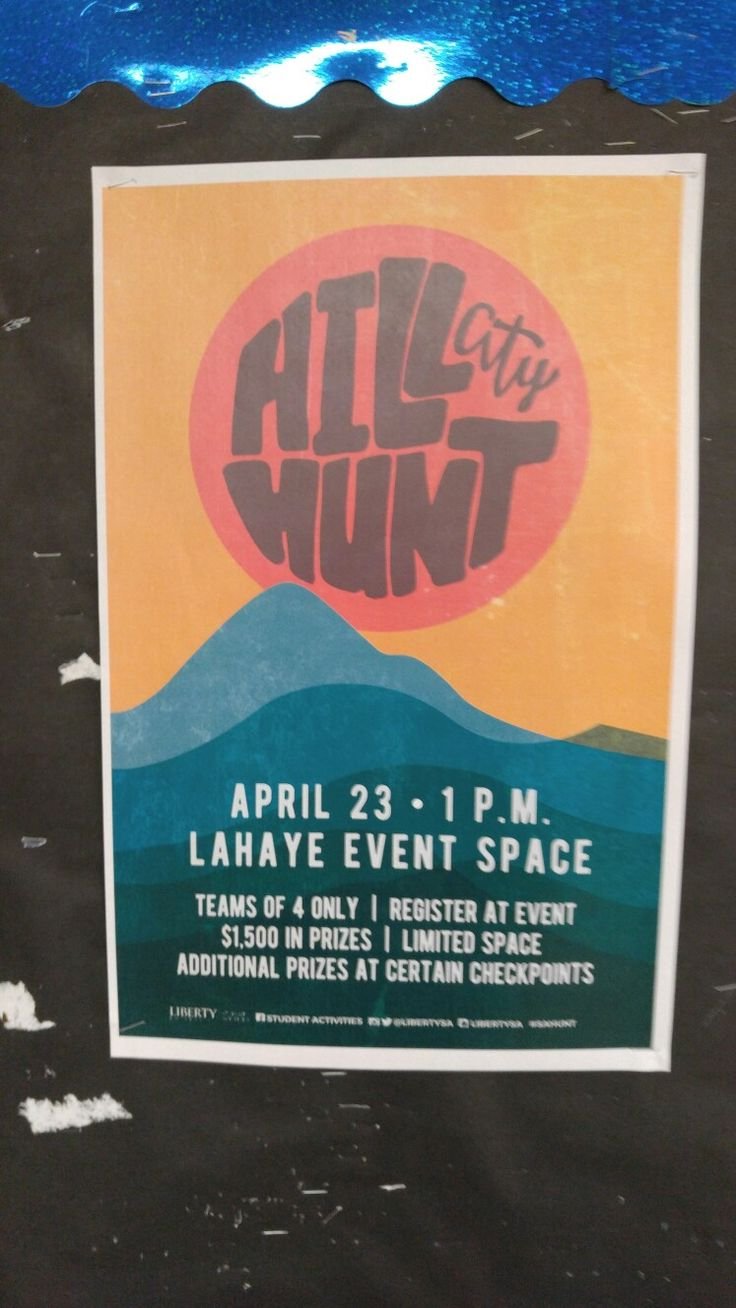 Poster design software for windows 8 1 - Extremely Hipster Poster Design For The On Campus Hill City Hunt Event