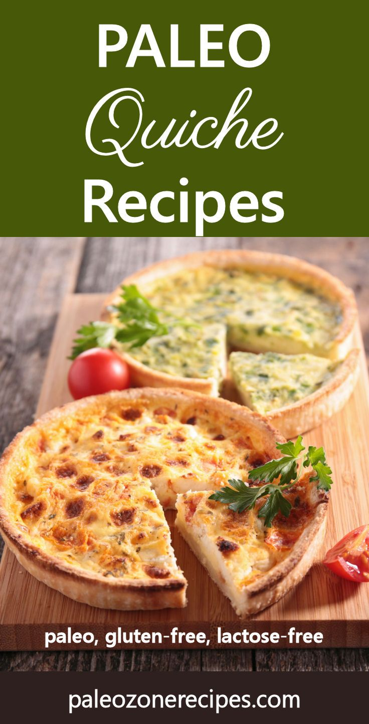 Paleo Quiche Recipes and Instructions for Almond and Coconut Flour Crust http://www.paleozonerecipes.com/paleo-dinner-recipes/paleo-quiche-recipes #paleo