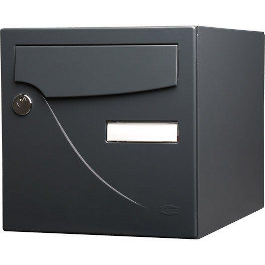 Boîte aux lettres - Boite aux lettres, profilé, ferronnerie   Leroy Merlin