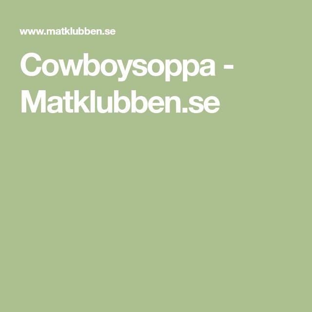 Cowboysoppa - Matklubben.se