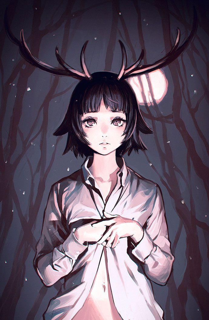 Tutoriel illustration digitale et manga par Ilya Kuvshinov