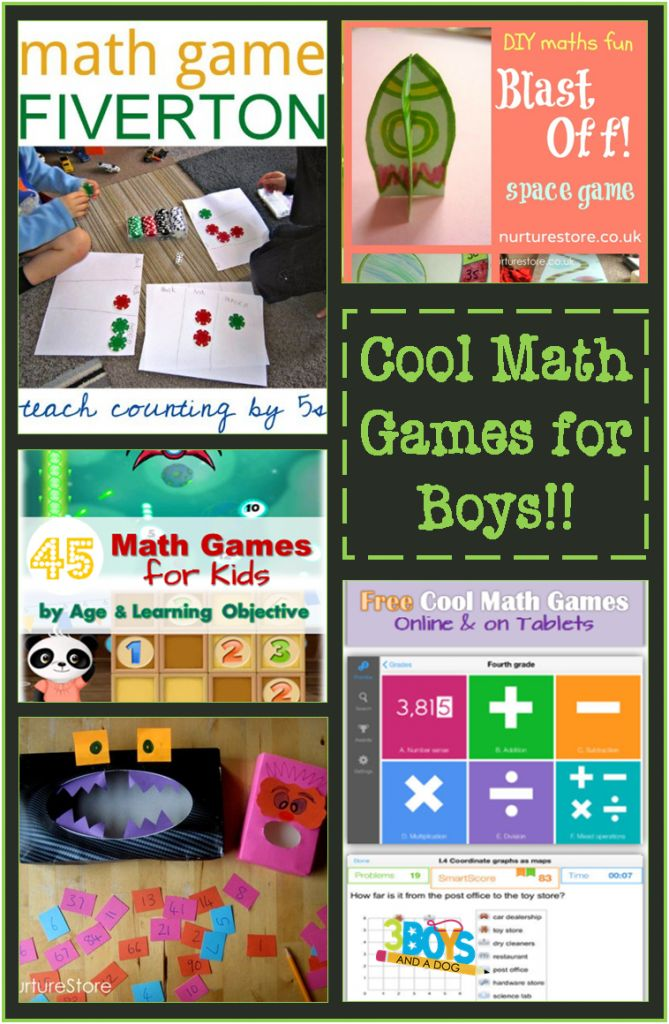 #Learning Math with Cool Games for Boys