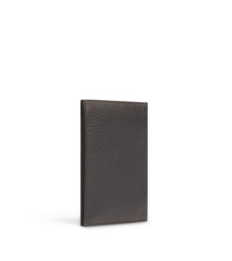 Black Colour Printed PU Men Passport Holder