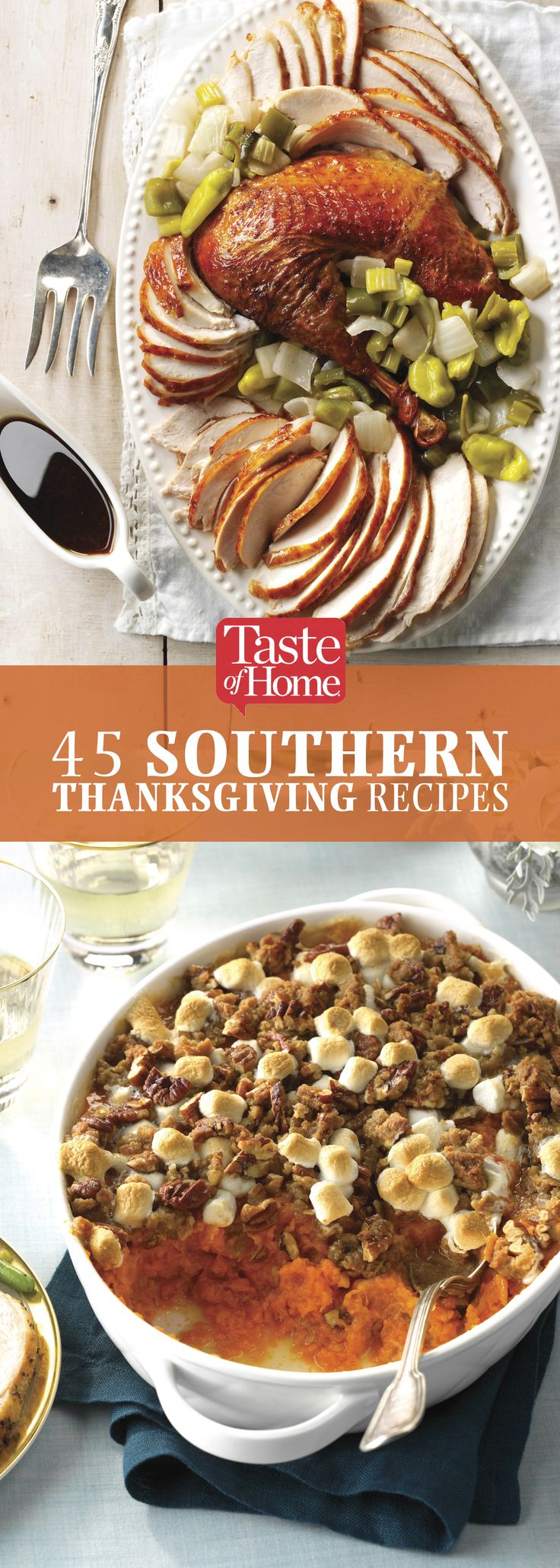 45 Soulful Southern Thanksgiving Recipes
