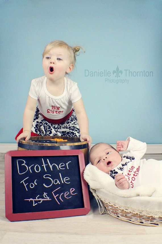 Big Sister and Little brother custom made dress by mypurseonals, $97.00