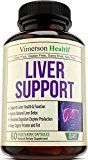Liver Support Supplement to Cleanse & Detox  Natural Non-Gmo Herbal Blend with Milk Thistle  Artichoke Extract  Turmeric  Ginger  Beet Root  Alfalfa  Zinc  Choline and More. Made in USA