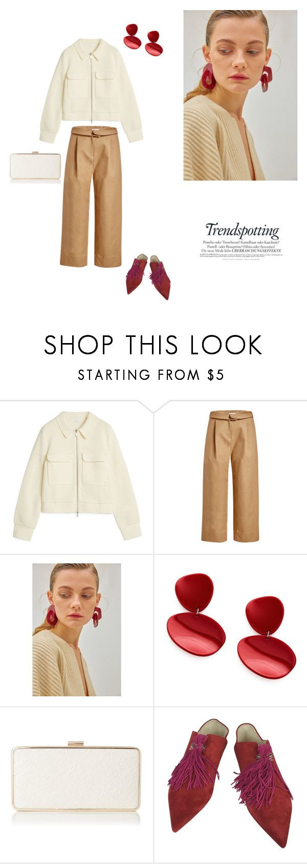 """04/03"" by dorey on Polyvore featuring Carven, Christian Louboutin, Spring, chic and simple"