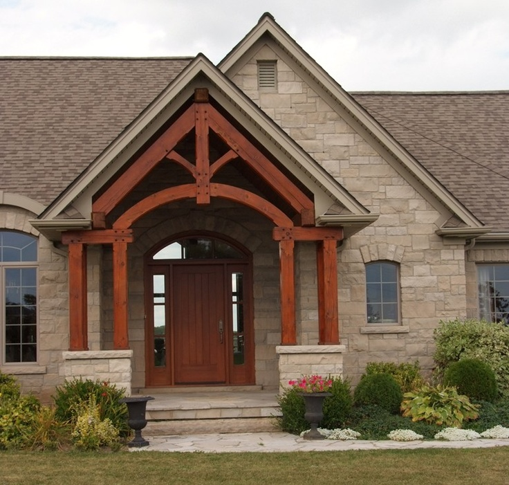 Limestone and front stoop exterior ideas pinterest for Limestone homes designs