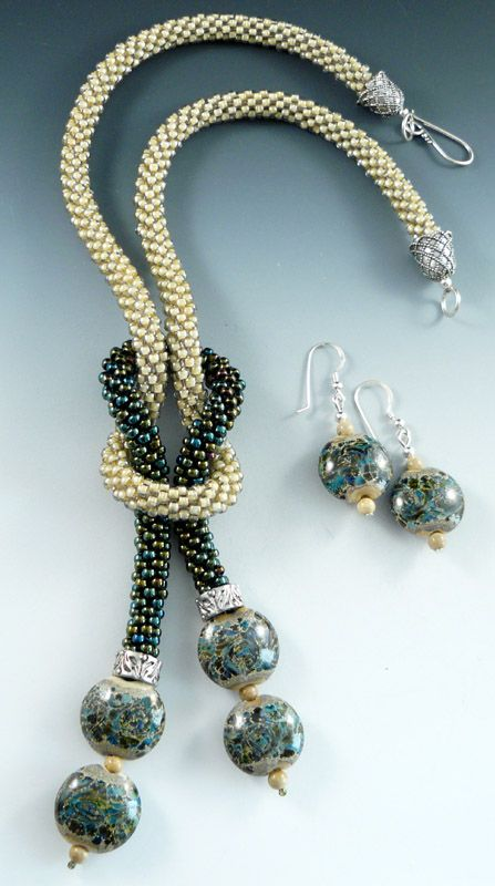 I love the way this is put together. it looks interchangeable. How cool to make a set of different dangles.
