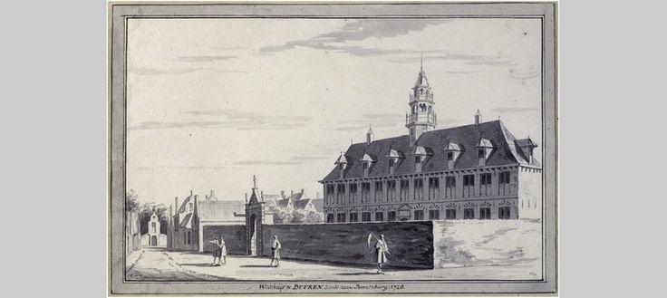 Weeshuis te Buren, Abraham de Haen naar Cornelis Pronk, 1728. Foto RKD – Nederlands instituut voor kunstgeschiedenis, Den Haag