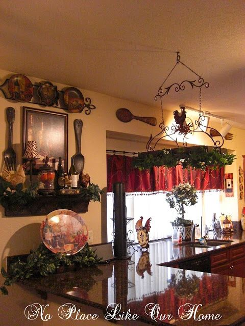 Find This Pin And More On Decorating A Red Country Kitchen