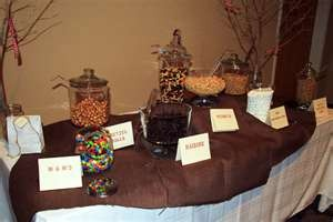 Build you own Trail Mix Bar.