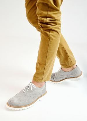 LUIGI FOOTWEAR (GR) - Δερμάτινα Δετά Παπούτσια τύπου Oxford