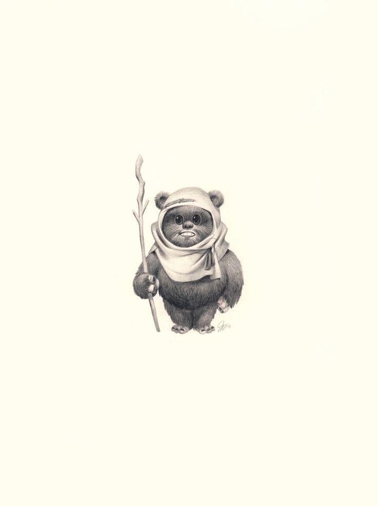 Wicket - Star Wars - Joy Ang....sooooo cute