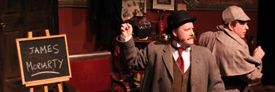 Holmes and Watson Save the Empire at Evergreen Cultural Centre, April 1-5, 2014
