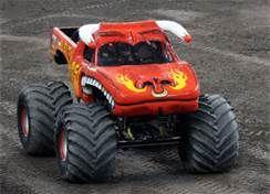 "yellow el torro loco   El Toro Loco ""The Crazy Bull"" Monster Trucks"