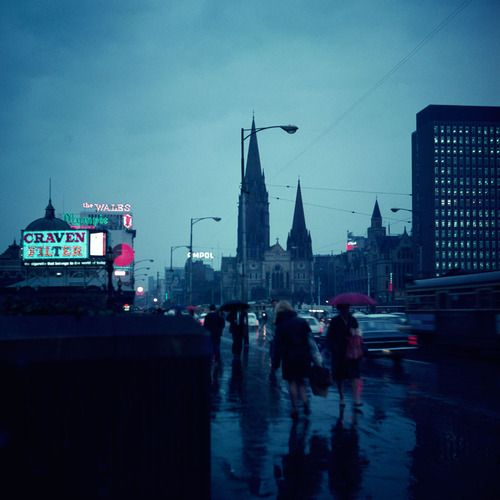 Angus O'Callaghan's, 'After the Storm' (Images of Melbourne)