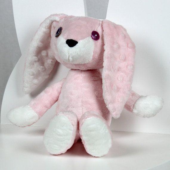 Plush Bunny Mimi Artist Rabbit Plush Stuffed Animal by NuvaArt
