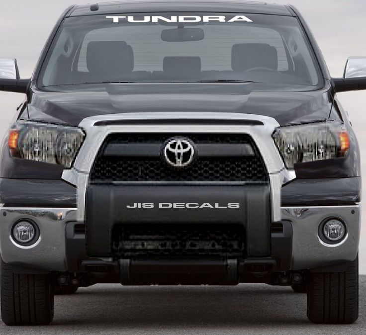 Toyota tundra windshield decal ebay motors parts accessories car truck parts