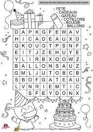 """Résultat de recherche d'images pour """"mot mélés pour enfants à imprimer"""""""