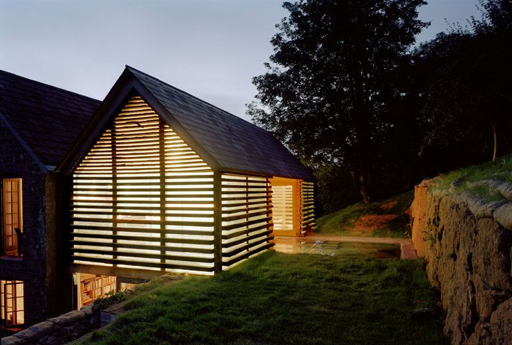 Architect: Skene Catling de la Peña  Location: Hadspen Estate, Somerset, England  Landscape: Niall Hobhouse