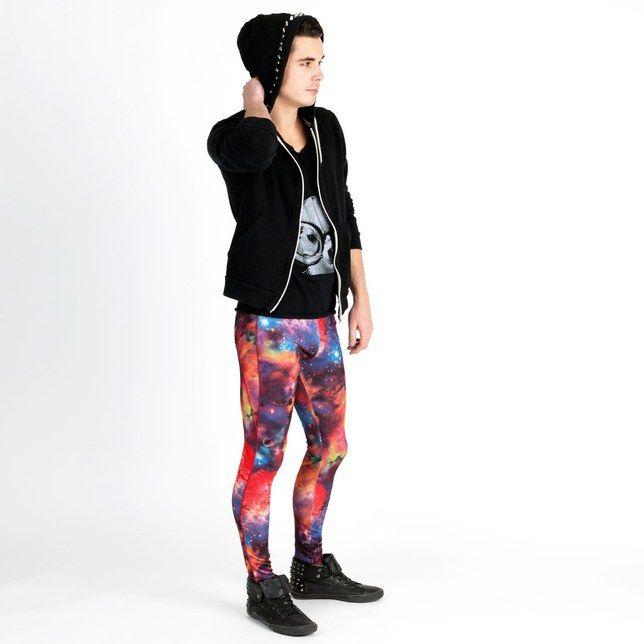 Arrivano i #meggins, i #leggings da #uomo: li faresti indossare al tuo lui?