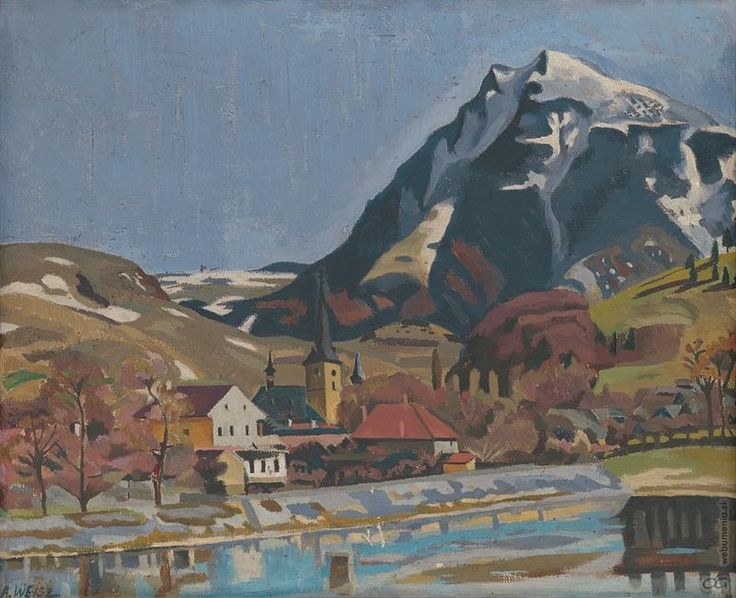 Arnold Peter Weisz-Kubínčan: Pohľad na Dolný Kubín:1925 - 1934