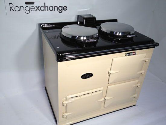 Electric Aga Cooker 2 Oven with AIMS – cream enamel - Range Exchange