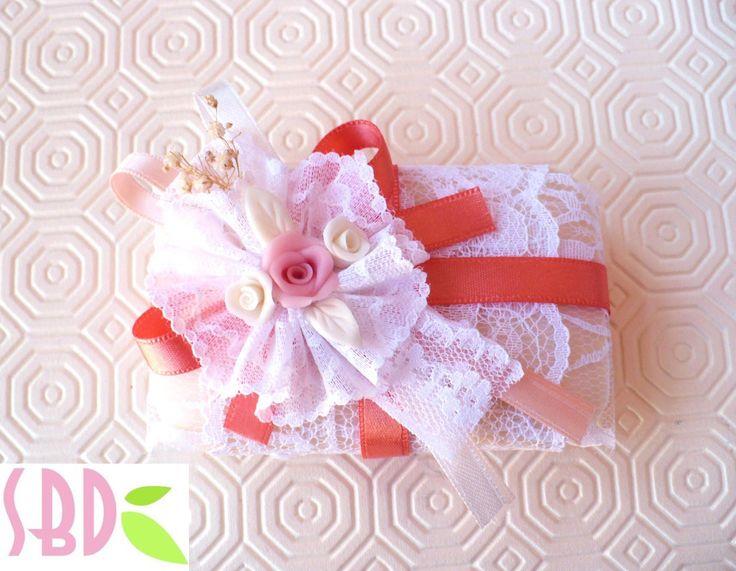 Tutorial: decorare le Saponette decorate 2 - Soap decoration 2