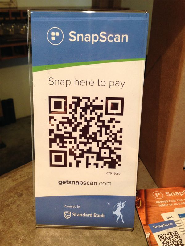Did you know we now have SnapScan? Making in-store payments easier.