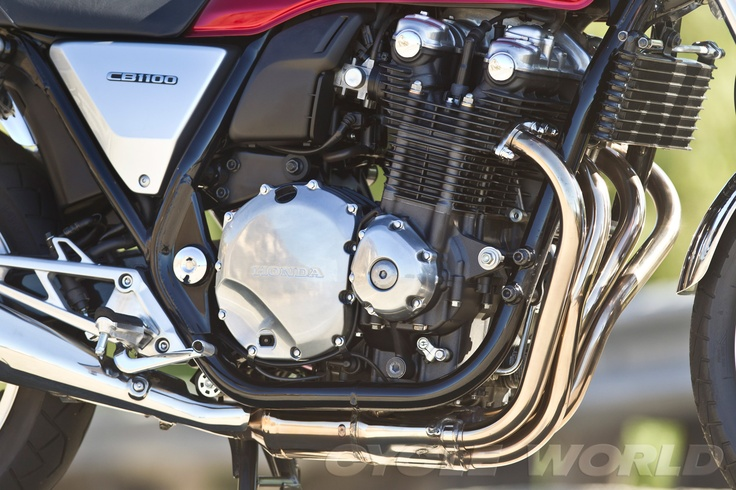 2013 Honda CB1100 - right-side engine view
