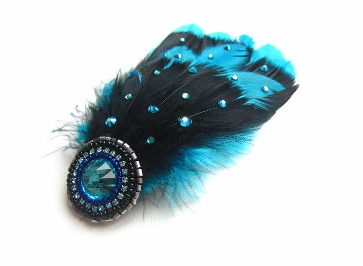 Feather fascinator