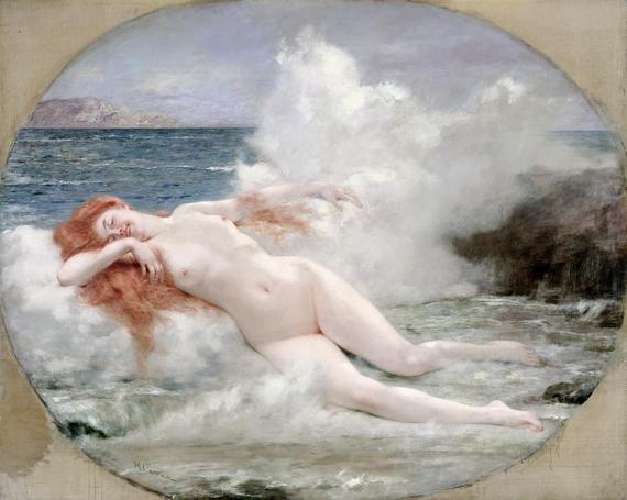 The Birth of Venus, Henri Gervex