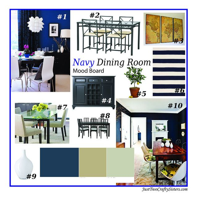 Best 25 Navy Dining Rooms Ideas On Pinterest Dark Blue