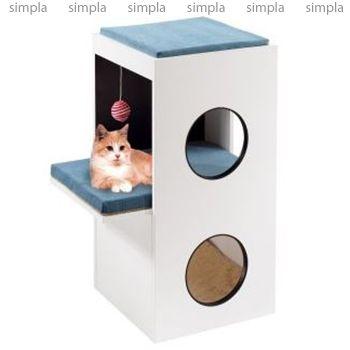 Ferplast Комплекс спально-игровой для кошки Blanco от mr-zoo