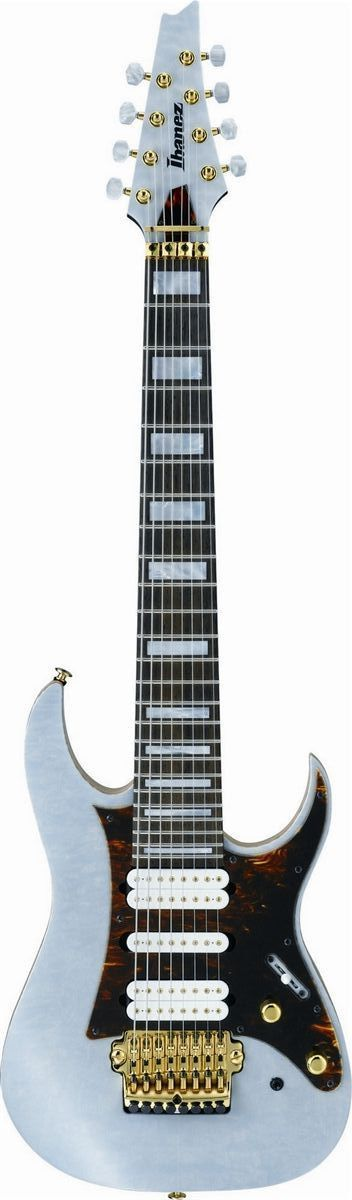 Signature guitar of Tosin Abasi. This guitar was designed with to the specifications of Tosin Abasi, the technical powerhouse of Animals as Leaders. Features - DiMarzio Ionizer8 Pickups - Quilted Mapl