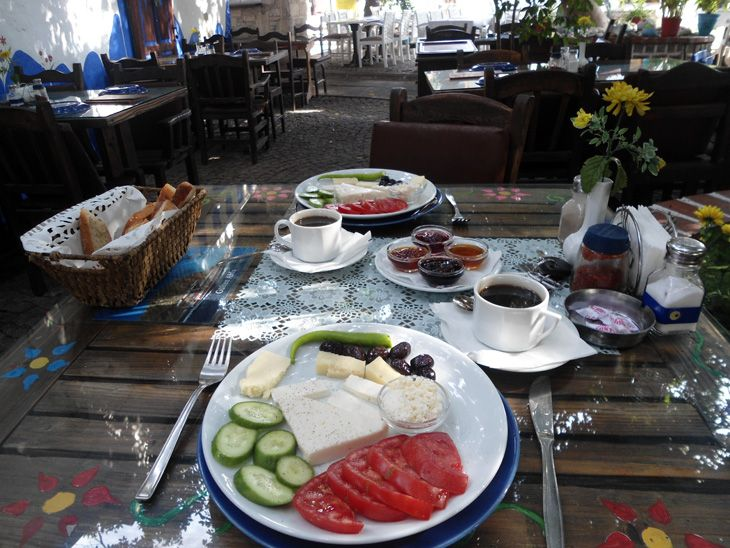 Yummm.... Turkish Breakfast in Yalikavak