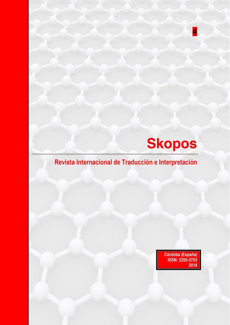 #Editorial Skopos 4. Revista Internacional de Traducción e Interpretación