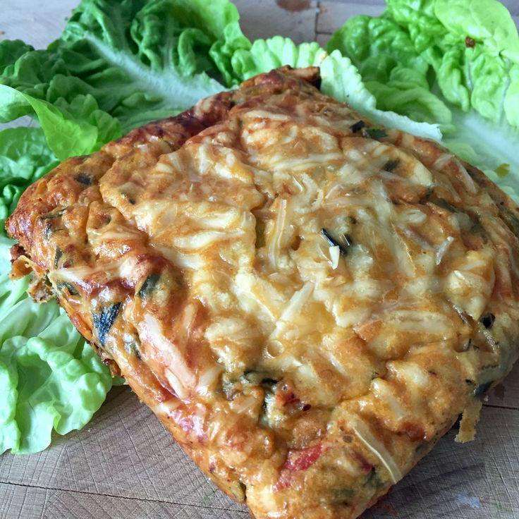 recept: hartig lasagne taartje van ei