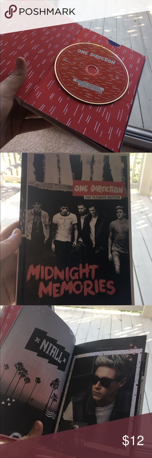 Midnight Memories limited edition CD Scrapbook Limited edition book filled with lots of picture and stories about One Direction and the full Midnight Memories album.!! Other