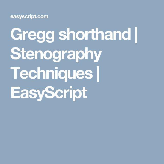 14 best shorthand images on Pinterest | Shorthand writing ...